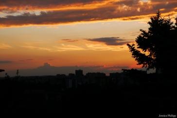 Skyline Sonnenuntergang